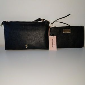 Juicy Couture Crossbody Bag with Removable Pouch